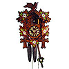 Cuckoo Clock: 1-Day Carving Clock, Edelweiss Paintings
